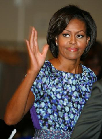 Michelle obama, la mujer mas poderosa del mundo
