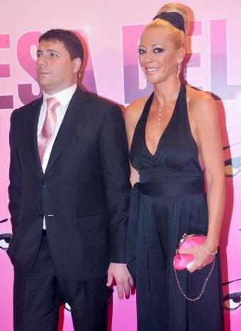 Belén Esteban y Fran Álvarez en la premier de 'La Princesa del Pueblo'