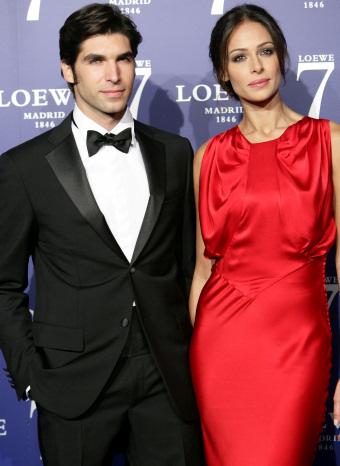 Cayetano y Eva en la presentación de 7 de Loewe