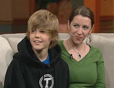 La madre de Justin Bieber Patti Mallette