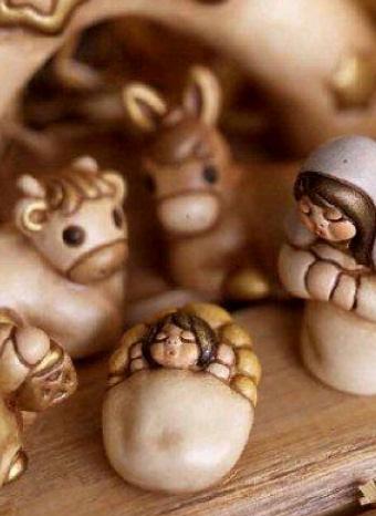 Pesebre de la colección de THUN para esta Navidad