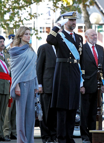 Letizia y felipe, los principes. preparados para reinar