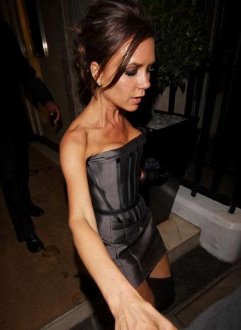 Victoria Beckham algo perjudicada