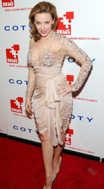 Kylie minogue ha vencido el cancer de mama