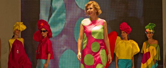 Agatha ruiz de la prada en moda sevilla 2010