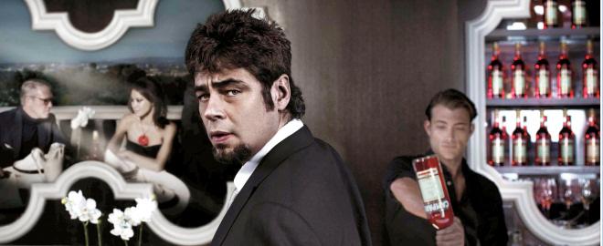 Benicio del toro, imagen del calendario campari 2011