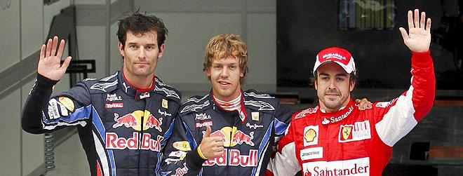 Fernando Alonso partirá desde la tercera posición en el Gran Premio de Corea