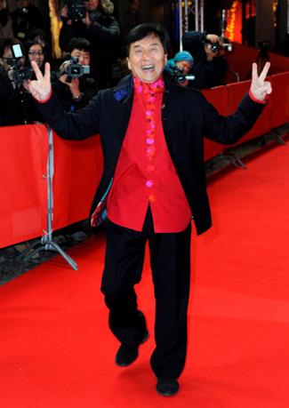 Jackie Chan, ganador de la Palmera de Oro de la Mostra de Valencia