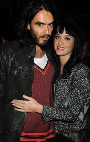 Katy Perry y Russell Brand ya se han casado