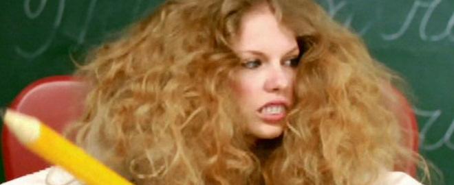 Taylor swift en un spot de television