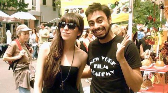 Florencia Florkey Kirchner en Nueva York