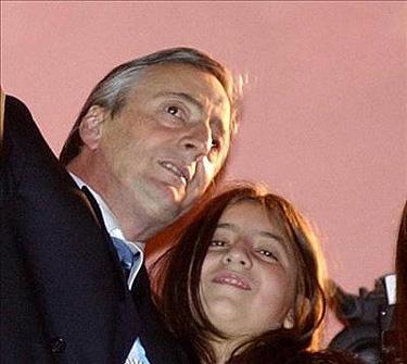 Florencia Kirchner muerte padre Néstor