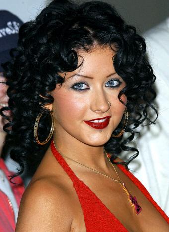 Christina Aguilera de morena