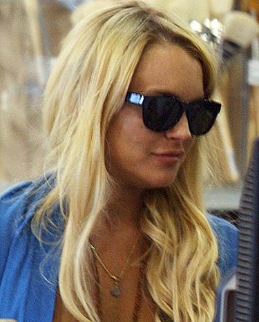 Drogas y falsas amistades de Lindsay Lohan