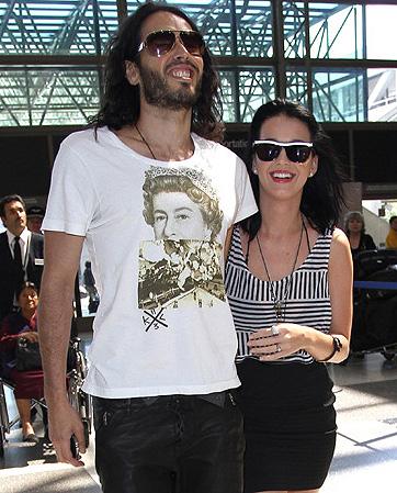 Bodas de Katy Perry y Russell Brand