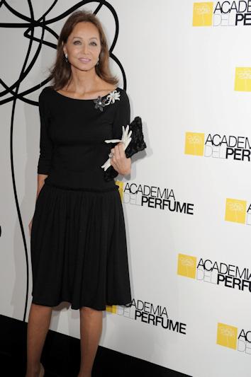 Isabel preysler en los premios de la academia del perfume 2010