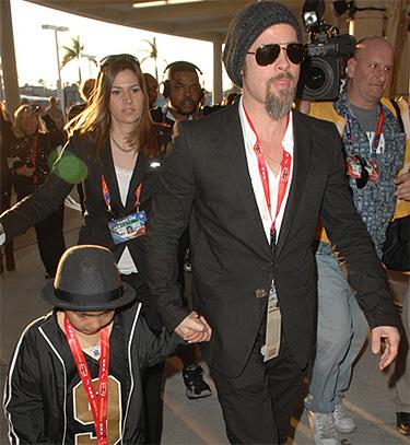Los hijos de Brad Pitt