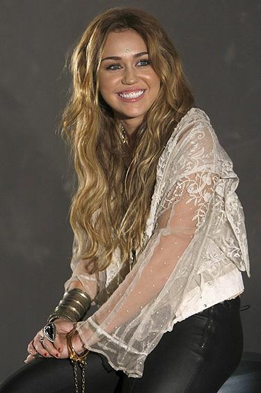 Miley Cyrus en MTV EMA 2010 de Madrid