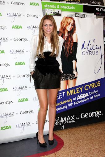 Miley cyrus presenta linea de ropa