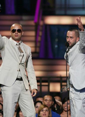 Wisin y Yandel en la previa de los Grammy Latino