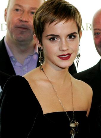 Emma Watson tras su cambio de look