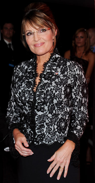La ex gobernado de Alaska Sarah Palin