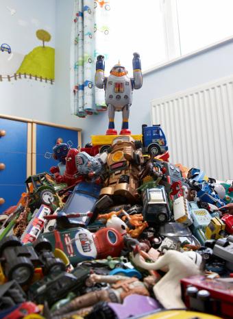 Montaña de juguetes