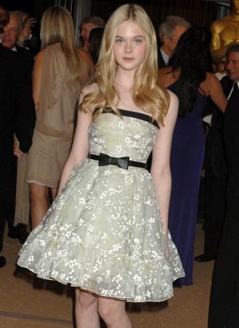 Elle Fanning en los Oscar honoríficos
