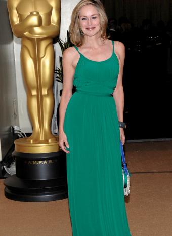 Sharon Stone en los Oscar Honorificos