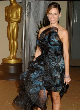 Hillary Swank en los Oscar Honoríficos