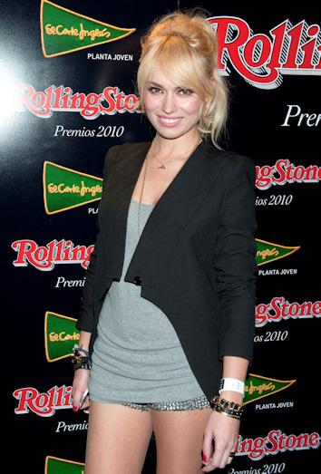 Patricia conde en la fiesta rolling stone 2010