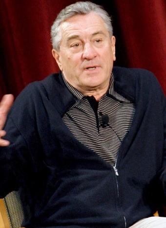 Robert De Niro durante una presentación