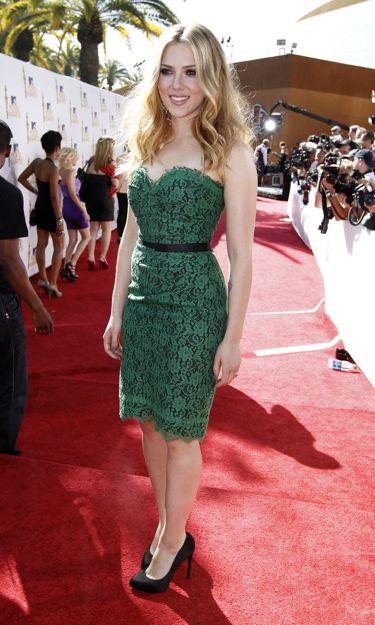 Scarlett Johansson chica del año 2010