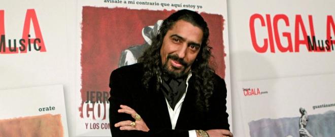 El Cigala en la presentación de su sello discográfico