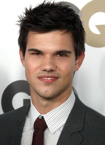 Taylor Lautner en la fiesta GQ