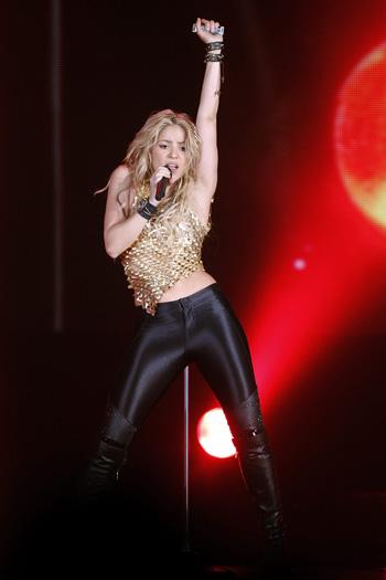 Shakira revoluciona Madrid con su concierto