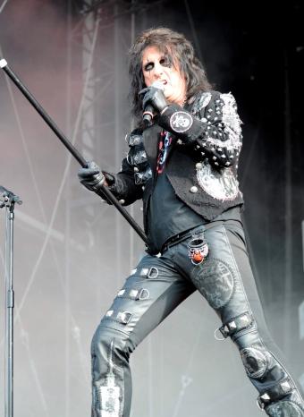 Alice Cooper dejó fascinado al públio en su concierto en Madrid