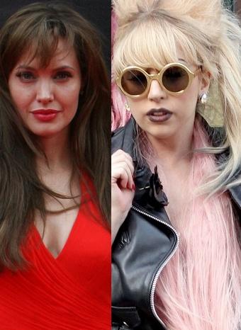 Angelina Jolie y Lady Gaga, las más elegantes