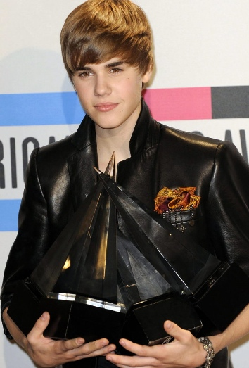 Justin Bieber y sus premios