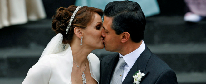 Angelica rivera se casa con enrique peña
