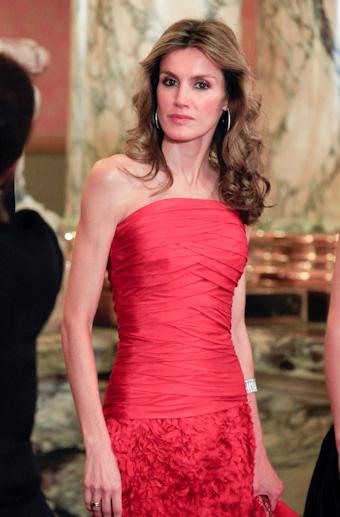 Letizia ortiz, la segunda española mejor vestida