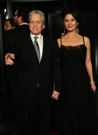Michael Douglas y Catherine Zeta Jones más unidos que nunca