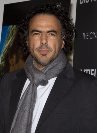 González Iñárritu en la presentación de