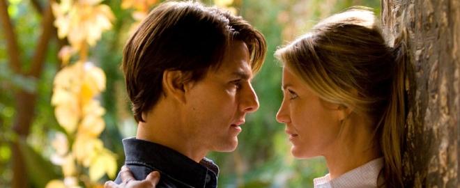 Tom Cruise y Cameron Díaz en una escena de