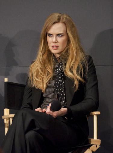 Nicole Kidman desmiente su paso por el quirófano con un concierto de muecas faciales en la presentacion de Rabbit Hole