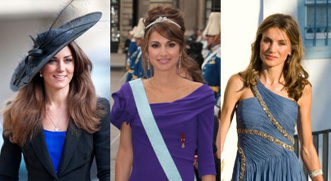 Kate Middleton, Letizia Ortiz o Rania de Jordania, las monarcas más deseadas