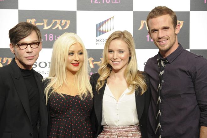 Christina Aguilera y Cher en Tokio