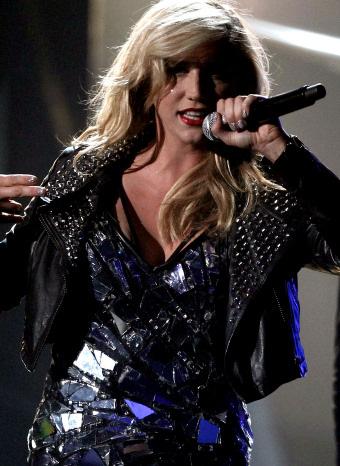 Kesha en directo