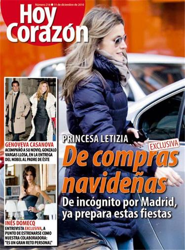 Letizia Ortiz de compras por Madrid