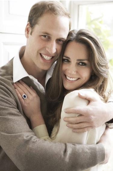 Kate Middleton y Guillermo de Inglaterra muy felices en las nuevas fotos oficiales